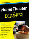 Home Theater For Dummies® (eBook)