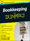 Bookkeeping For Dummies (eBook)