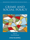 Crime and Social Policy (eBook)