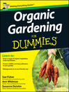 Organic Gardening for Dummies, UK Edition (eBook)