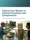 Critical Care Manual of Clinical Procedures and Competencies (eBook)