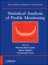 Statistical Analysis of Profile Monitoring (eBook)
