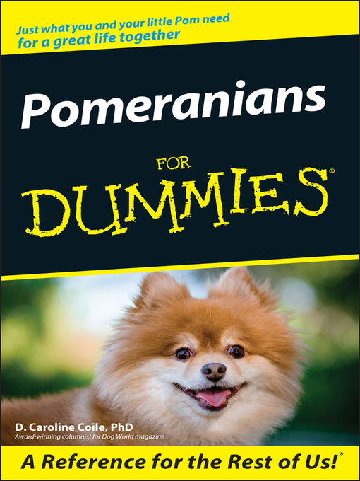 Pomeranians For Dummies (eBook)