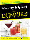 Whiskey & Spirits For Dummies (eBook)