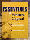 Essentials of Venture Capital (eBook)
