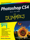 Photoshop CS4 All-in-One For Dummies® (eBook)