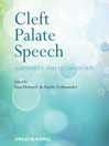 Cleft Palate Speech (eBook): Assessment and Intervention