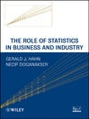 The Role of Statistics in Business and Industry (eBook)