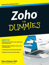 Zoho For Dummies (eBook)