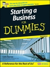 Starting a Business For Dummies (eBook)