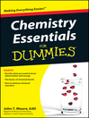 Chemistry Essentials For Dummies (eBook)