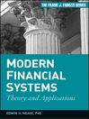 Modern Financial Systems (eBook): Theory and Applications