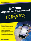 iPhone Application Development For Dummies (eBook)