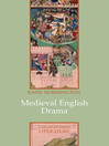 Medieval English Drama (eBook)