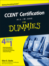 CCENT Certification All-In-One For Dummies (eBook)