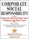 Corporate Social Responsibility (eBook): Doing the Most Good for Your Company and Your Cause