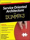Service Oriented Architecture For Dummies® (eBook)