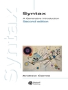 Syntax (eBook): A Generative Introduction