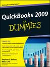 QuickBooks 2009 For Dummies® (eBook)