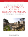 A Companion to the Archaeology of the Roman Republic (eBook)
