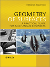 Geometry of Surfaces (eBook): A Practical Guide for Mechanical Engineers