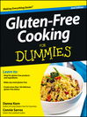 Gluten-Free Cooking For Dummies (eBook)