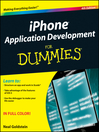 iPhone Application Development For Dummies (eBook)