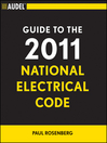 Audel Guide to the 2011 National Electrical Code (eBook): All New Edition