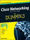 Cisco Networking All-in-One For Dummies (eBook)