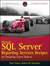 Microsoft SQL Server Reporting Services Recipes (eBook): for Designing Expert Reports