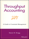 Throughput Accounting (eBook): A Guide to Constraint Management