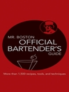 Mr. Boston Official Bartender's Guide (eBook)