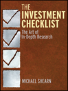 The Investment Checklist (eBook): The Art of In-Depth Research