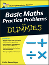 Basic Maths Practice Problems For Dummies (eBook)