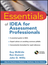 Essentials of IDEA for Assessment Professionals (eBook)