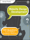 Website Design and Development (eBook): 100 Questions to Ask Before Building a Website
