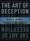The Art of Deception (eBook): Controlling the Human Element of Security