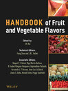 Handbook of Fruit and Vegetable Flavors (eBook)