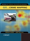 GIS and Crime Mapping (eBook)