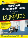Starting and Running a Business All-in-One For Dummies (eBook)