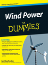 Wind Power For Dummies (eBook)