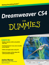 Dreamweaver CS4 For Dummies® (eBook)
