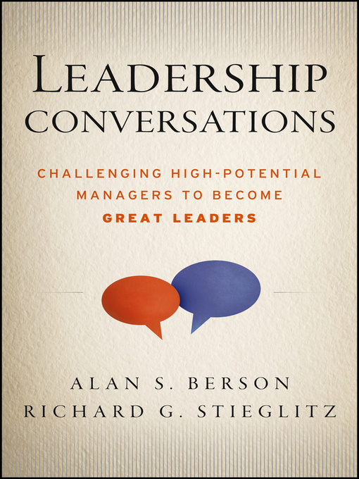 Leadership Conversations (eBook): Challenging High Potential Managers to Become Great Leaders