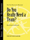 Do You Really Need a Team (eBook)