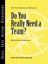 Do You Really Need a Team (eBook)