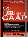 The Vest Pocket Guide to GAAP (eBook)