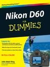 Nikon D60 For Dummies (eBook)