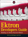 Ektron Developer's Guide (eBook): Building an Ektron Powered Website