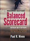 Balanced Scorecard Step-by-Step (eBook): Maximizing Performance and Maintaining Results