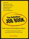 The Definitive Job Book (eBook): Rules from the Recruitment Insiders